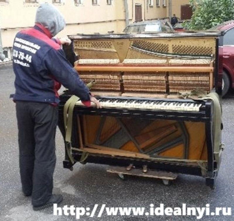 Перевозка Мебели. Пианино. Проф. Грузчики. Санкт-Петербург