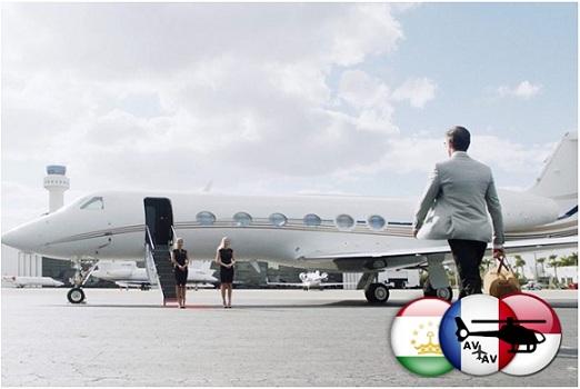 Чартерные рейсы от компании Cofrance Sarl